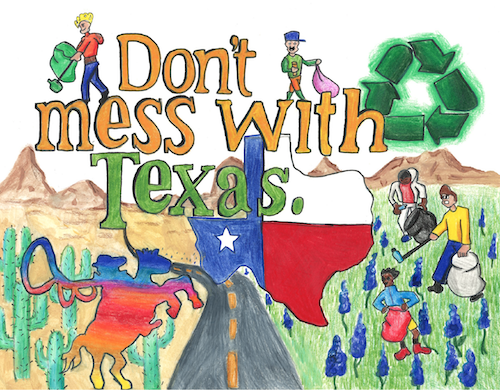 Don't mess with Texas® K-12 Art Contest