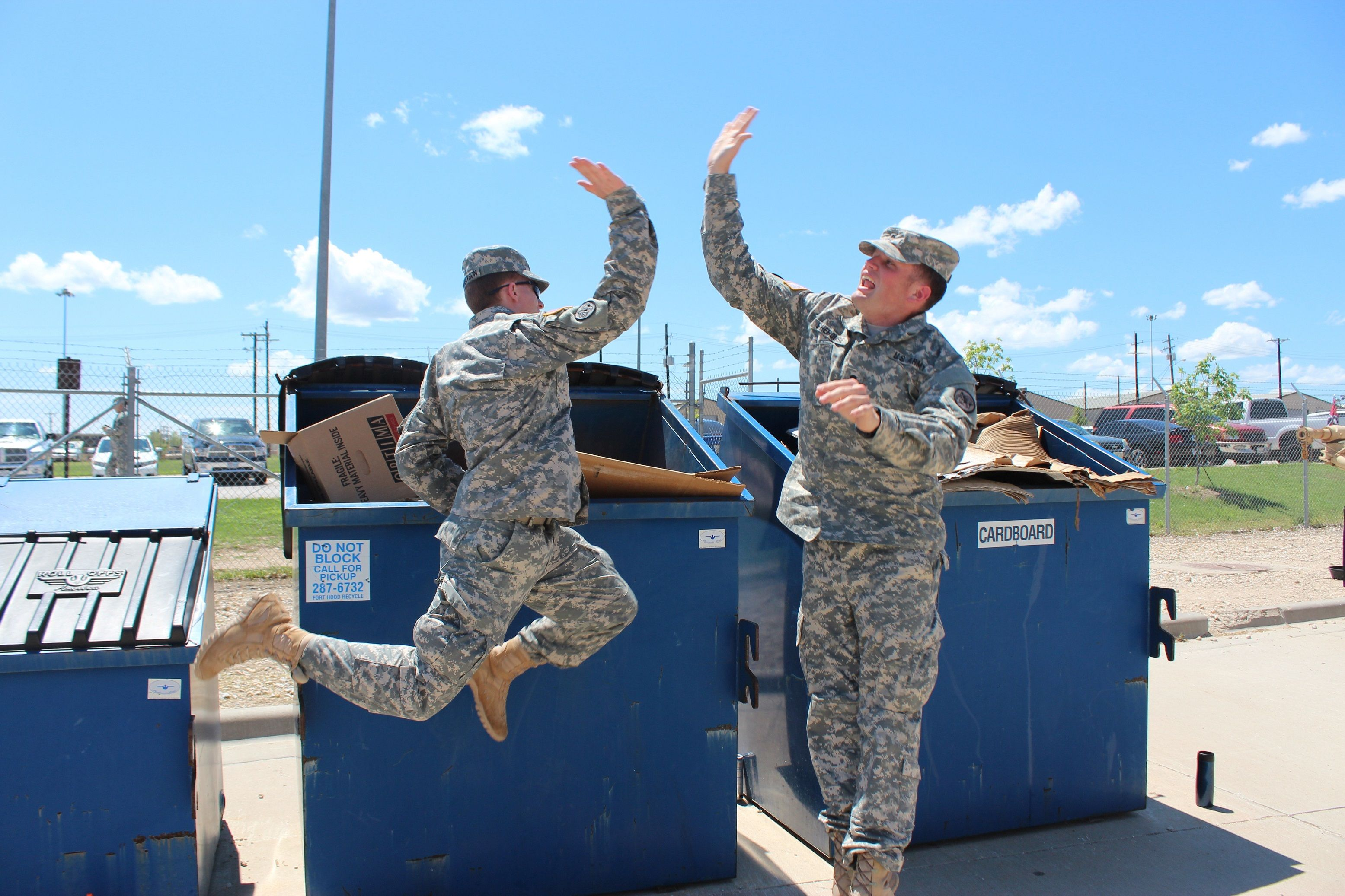 Soldiers-Recycle Photo-Credit-Keep-Texas-Beautiful