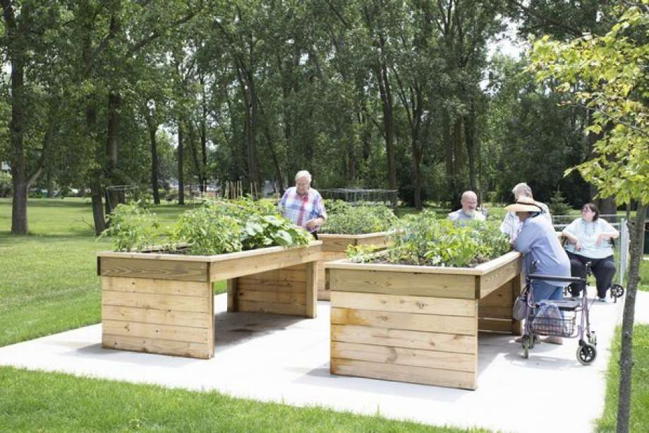 Community Garden Design for Individuals with Mobility Challenges