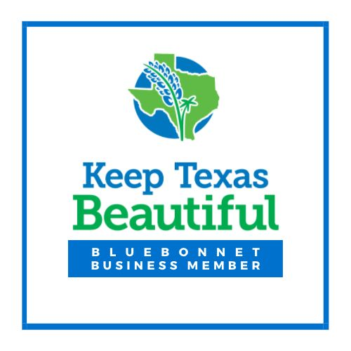 KTB Bluebonnet Business Member Logo Cling