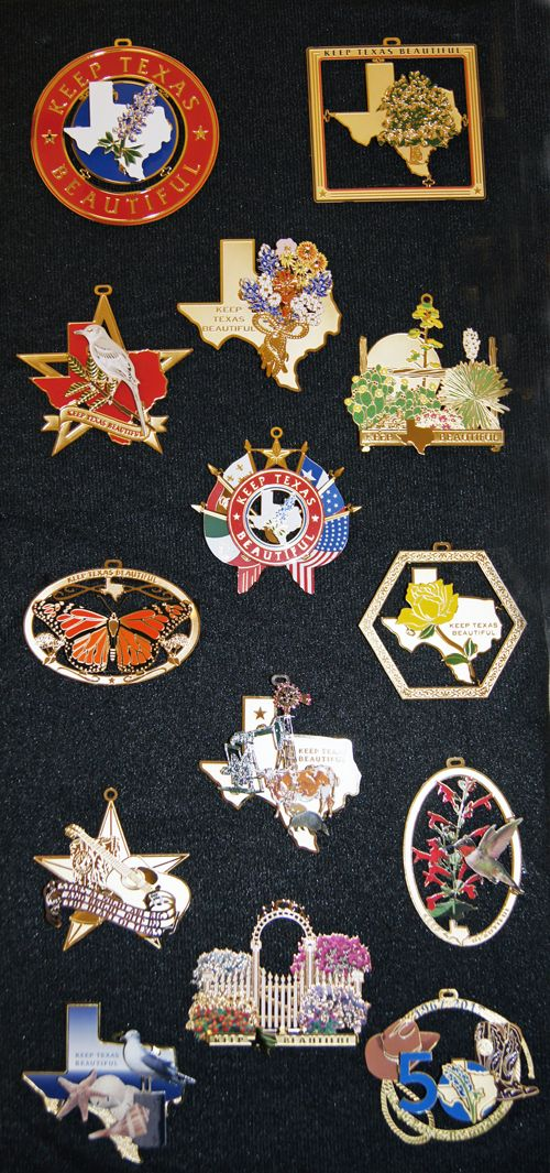 collectible set of twelve ornaments