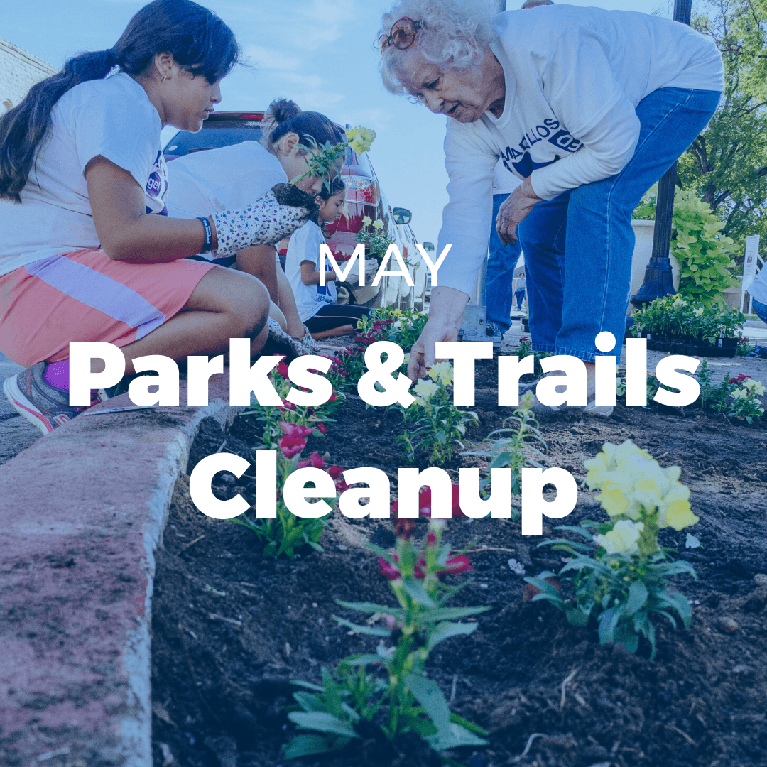 MAY: Parks & Trails Cleanup