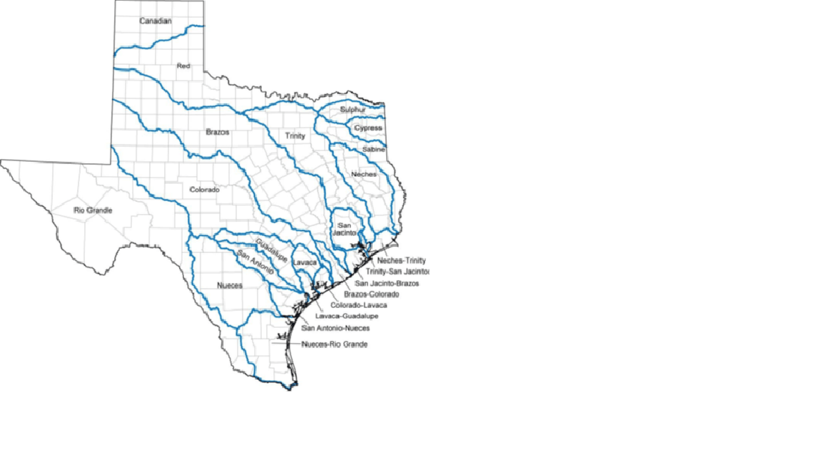 Texas River Basin