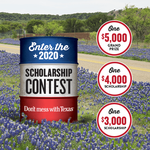 Don't mess with Texas® Scholarship