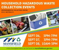 Mansfield Household Hazardous Waste Dropoff