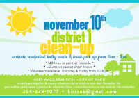 Waco District 1 Cleanup