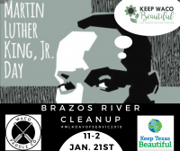 MLK Day of Service: Brazos River Cleanup