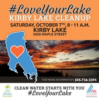 Abilene - Kirby Lake Clean-Up